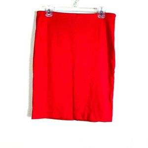 NEW The Limited Women's Red Pencil Skirt 34E